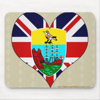 I Love Saint Helena Mouse Pad