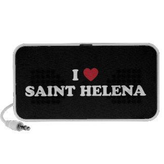 I Love Saint Helena Travelling Speaker
