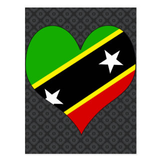 I Love Saint Kitts And Nevis Post Cards
