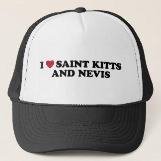 I Love Saint Kitts and Nevis Trucker Hat