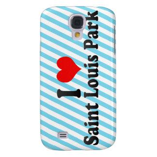 I Love Saint Louis Park, United States Galaxy S4 Case