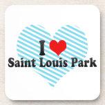 I Love Saint Louis Park, United States Beverage Coaster