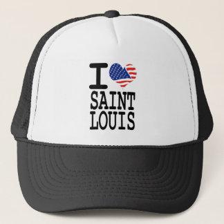 I love Saint Louis Trucker Hat