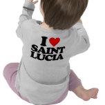 I LOVE SAINT LUCIA T-SHIRTS