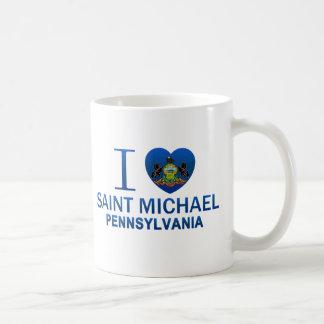 I Love Saint Michael, PA Coffee Mug