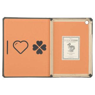 I Love Saint Patrick Day Case For iPad Air