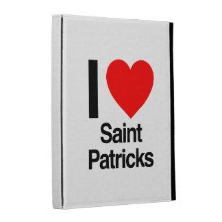 i love saint patricks iPad cases