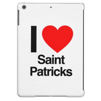 i love saint patricks iPad air covers