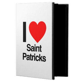 i love saint patricks iPad air cover
