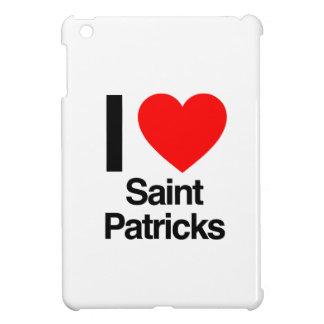 i love saint patricks iPad mini case