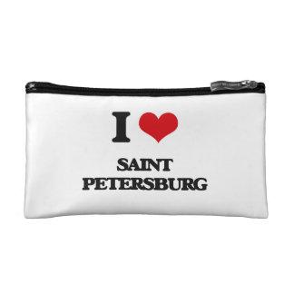 I love Saint Petersburg Cosmetic Bags