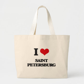 I love Saint Petersburg Canvas Bag