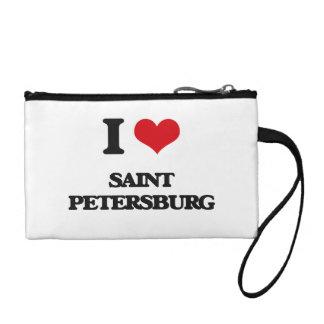 I love Saint Petersburg Coin Purses