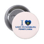 I Love Saint Petersburg, PA Pin