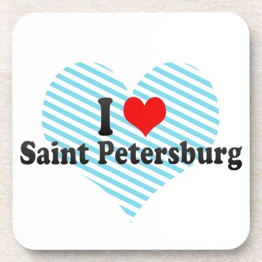 I Love Saint Petersburg, Russia Coaster