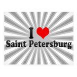 I Love Saint Petersburg, Russia Postcard