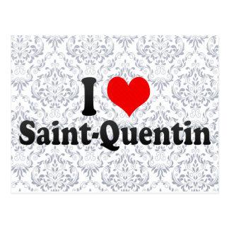 I Love Saint-Quentin, France Postcard