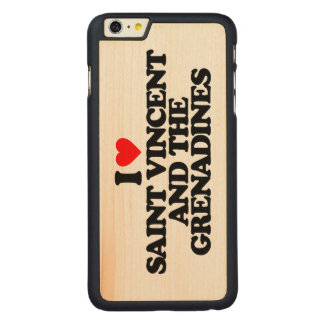 I LOVE SAINT VINCENT AND THE GRENADINES CARVED® MAPLE iPhone 6 PLUS SLIM CASE