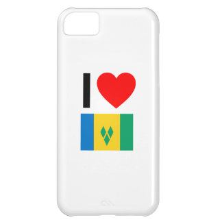 i love saint vincent and the grenadines cover for iPhone 5C