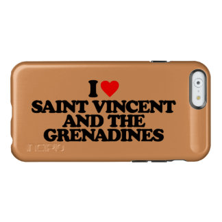 I LOVE SAINT VINCENT AND THE GRENADINES INCIPIO FEATHER® SHINE iPhone 6 CASE