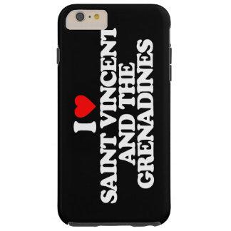 I LOVE SAINT VINCENT AND THE GRENADINES TOUGH iPhone 6 PLUS CASE
