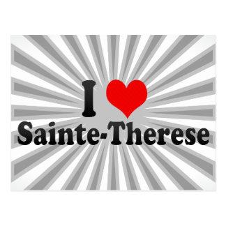 I Love Sainte-Therese, Canada Postcard