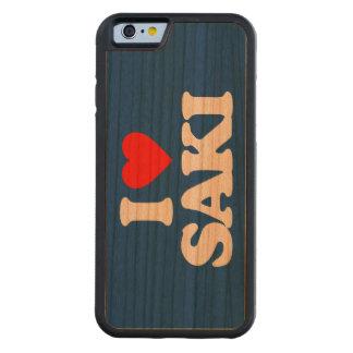 I LOVE SAKI CARVED CHERRY iPhone 6 BUMPER CASE
