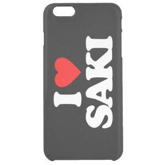 I LOVE SAKI CLEAR iPhone 6 PLUS CASE
