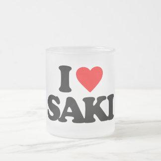 I LOVE SAKI MUGS