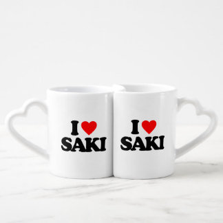 I LOVE SAKI LOVERS MUG SETS