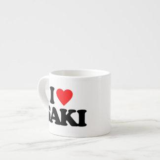 I LOVE SAKI ESPRESSO CUP