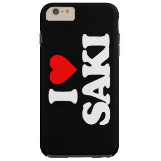 I LOVE SAKI TOUGH iPhone 6 PLUS CASE