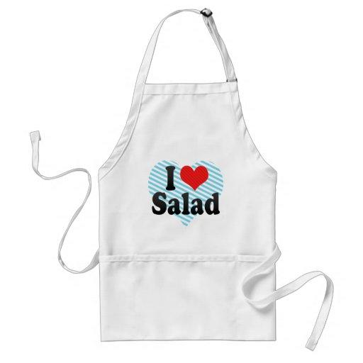 I Love Salad Adult Apron