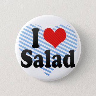 I Love Salad Button