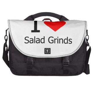 I Love Salad Grinds Commuter Bag