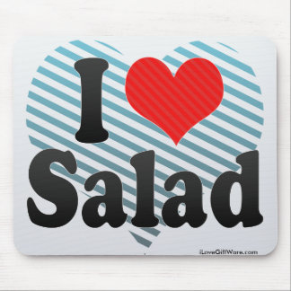 I Love Salad Mouse Pad