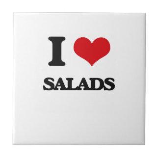 I Love Salads Ceramic Tiles