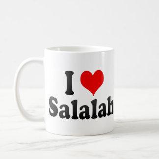 I Love Salalah, Oman Classic White Coffee Mug
