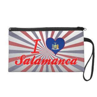 I Love Salamanca, New York Wristlet