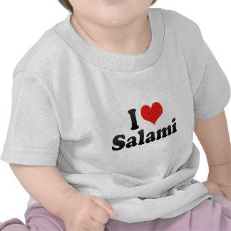 I Love Salami Tshirt