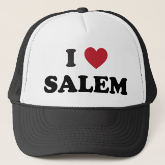 I Love Salem Oregon Trucker Hat