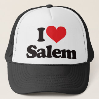 I Love Salem Trucker Hat