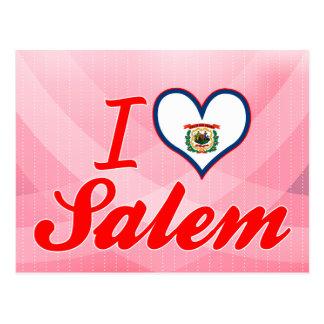 I Love Salem West Virginia Post Card