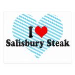 I Love Salisbury Steak Post Card