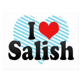 I Love Salish Postcard