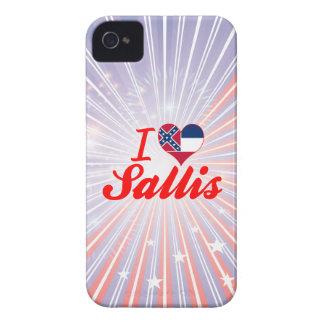 I Love Sallis, Mississippi Case-Mate iPhone 4 Case