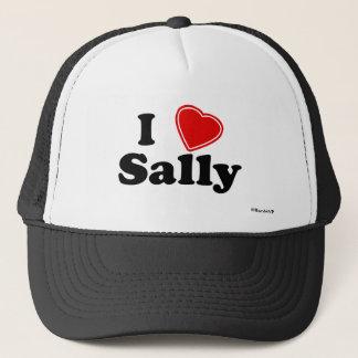 I Love Sally Trucker Hat
