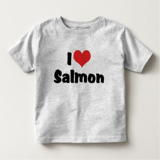 I Love Salmon Shirt