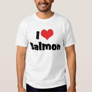 I Love Salmon T Shirt