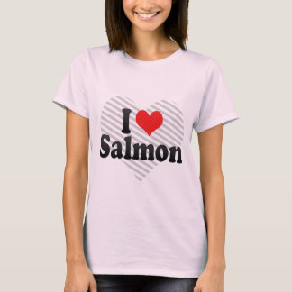 I Love Salmon T-Shirt